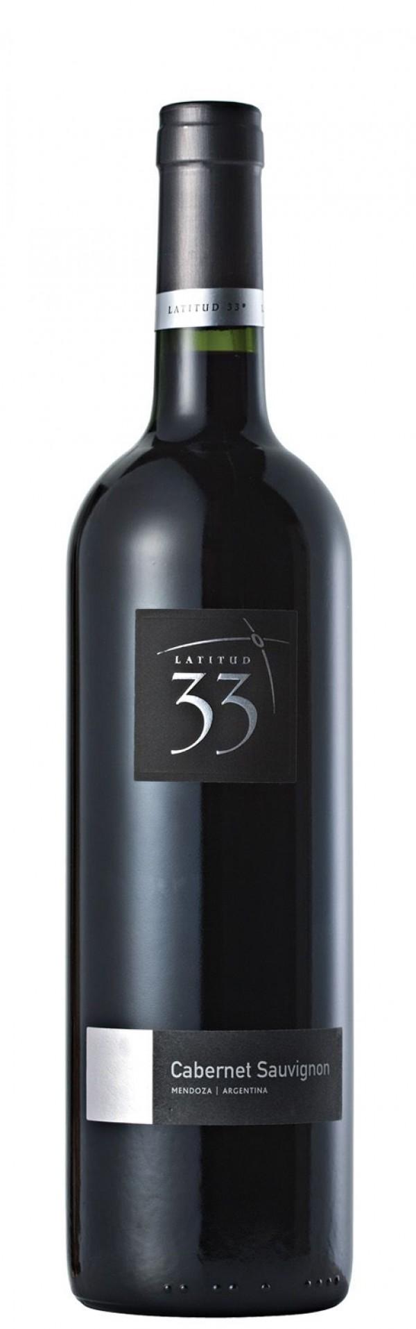 Vinho argentino Latitud 33° cabernet sauvignon 750 ml
