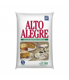 Açúcar refinado Alto Alegre pacote 1 kg
