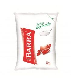 Açúcar refinado Da Barra pacote 1 kg
