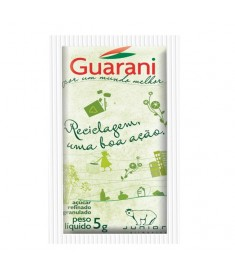 Açúcar refinado Junior Guarani sachê caixa 996 x 5 g