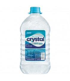 Água mineral Crystal sem gás pet 5 l