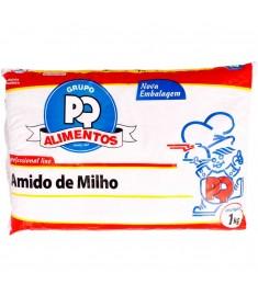 Amido de milho PQ pacote 1 kg