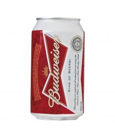 Cerveja Budweiser lager lata 350 ml