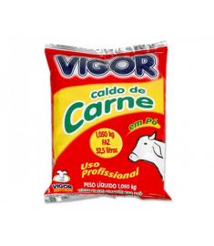 Caldo de Carne Vigor pacote 1,05 kg