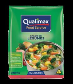Caldo de legumes Qualimax pacote 1,01 kg
