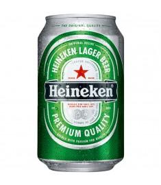 Cerveja Heineken lager lata 350 ml