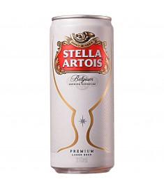Cerveja Stella Artois lager lata 310 ml