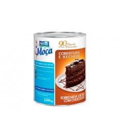 Cobertura Chocolate e Recheio Nestle