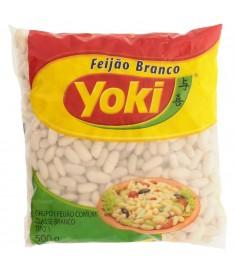 Feijão branco Yoki pacote 500 g
