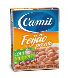 Feijão carioca Camil pronto TP 380 g