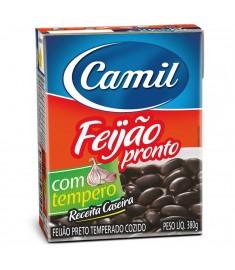 Feijão preto Camil pronto TP 380 g