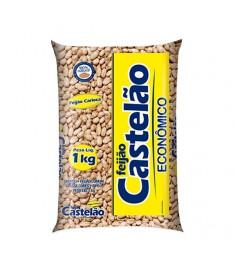 Feijão Carioca Castelão pacote 1 kg