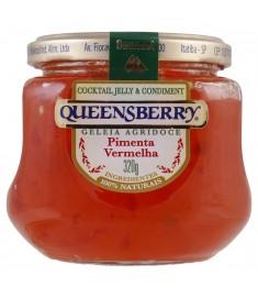 Geleia agridoce Queensberry pimenta vermelha pote 320 g