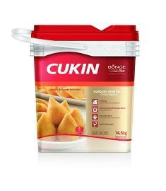 Gordura vegetal Cukin Bunge balde 14,5 kg