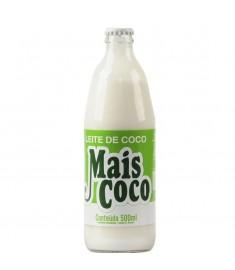 Leite de coco Mais Coco vidro 500 ml