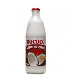 Leite de coco Sococo vidro 500 ml