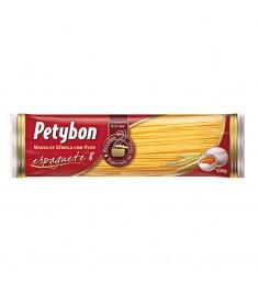 Macarrão espaguete 8 Petybon pacote 500 g