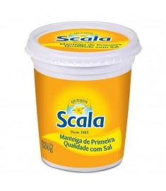 Manteiga Scala com sal pote 500 g