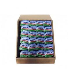Manteiga Vigor sachê sem sal caixa 192 x 10 g