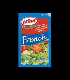 Molho para salada Ekma french sachê caixa 120 x 18 g