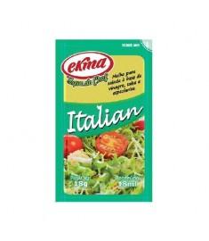Molho para salada Ekma italian sachê caixa 120 x 18 g