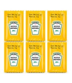 Mostarda Heinz sachê caixa 192 x 5 g