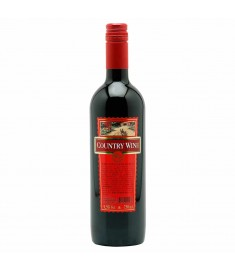 Vinho Country Wine tinto suave 750 ml